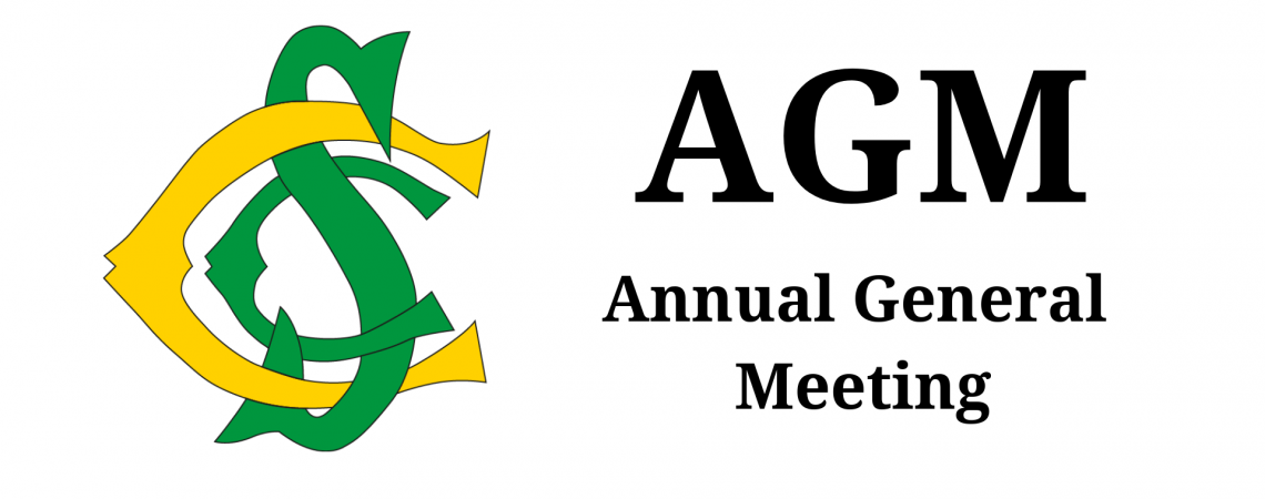 AGM Monday 20 May